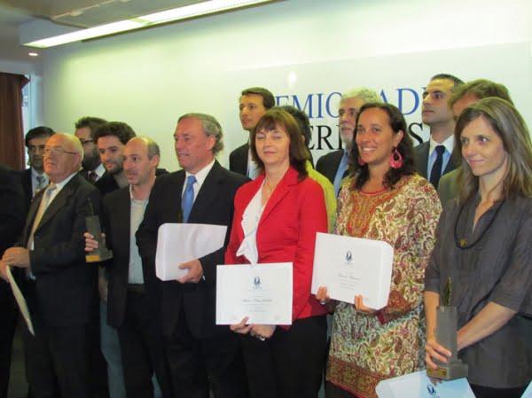 Ceremonia de los Premios ADEPA