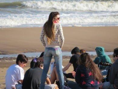 Amigos, mar y primavera, una mágica combinación en Claromecó