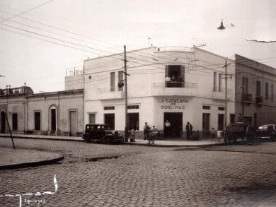 """Bartolomé Roig y Andrés Más, dos primos mallorquíes, se hicieron cargo en 1914 de """"La Catalana"""", símbolo de la gastronomía y hotelería lugareña que cumple un siglo de vida"""
