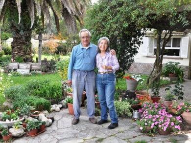 Rubén y Cristina Martín cultivan hortalizas baby, brotes y flores comestibles, que luego venden en restaurants de alta cocina, hoteles de cinco estrellas y servicios de catering