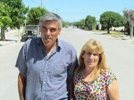María Angélica Souto cumplió esa función hace algunos años, y desde diciembre último, su esposo Carlos Avila asumió como delegado director en Claromecó