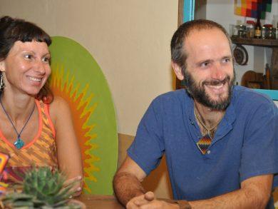 """""""Apuntamos a llevar a cabo en Córdoba una vida más simple y natural. Lo venimos pensando desde que nos llegó el conocimiento de la permacultura"""", aseguraron Mariano y Andrea"""