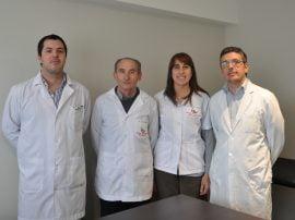 El grupo de trabajo lo integran los doctores Pedro Ferrari, Alfredo García, Claudia Mortatti, Guillermo López Soutric (en la foto), Gustavo Oby, Ernesto Piccone y Martín Medawar