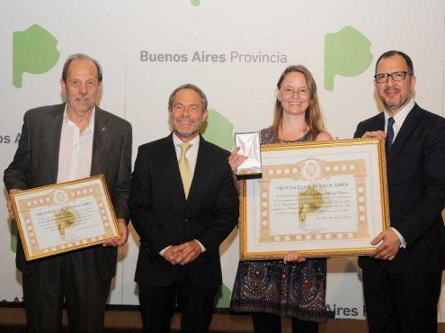 Petersen recibió también el Premio Gobierno de la Provincia de Buenos Aires, otorgado a los mejores estudiantes de educación superior del territorio bonaerense