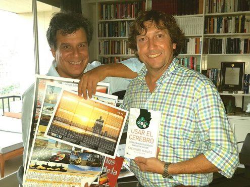 Manes y Blanco, con los respectivos ejemplares publicados por cada uno de ellos