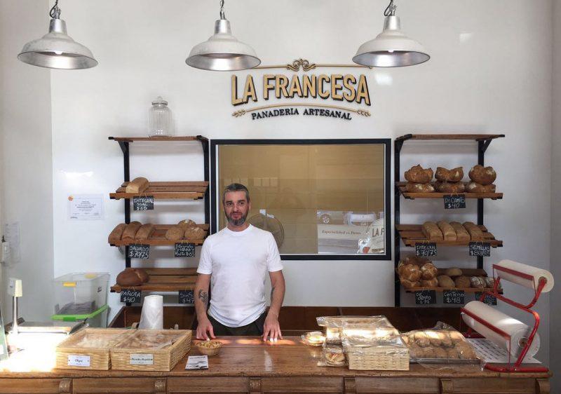 """Rodolfo Saez es el representante de la tercera generación de panaderos de su familia. En """"La Francesa"""" encontró una vuelta de tuerca a la producción que caracterizaba a sus antecesores"""