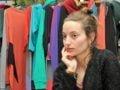 """Virginia Lelouche durante el mano a mano con """"El Periodista"""""""
