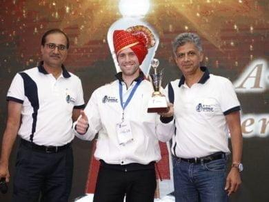 """En octubre último Lucas Fasulo compitió, y se posicionó tercero, en una suerte de Mundial de Mecánicos llamado """"World Skill 2017"""" en la India"""