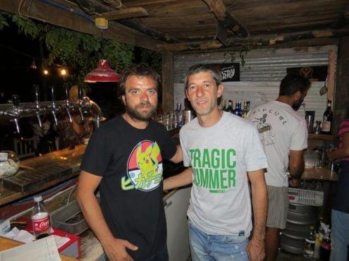 Jaime Guisasola siempre tuvo el deseo de administrar un restaurante en Claromecó, el pueblo al que siempre volvió y donde se siente pleno