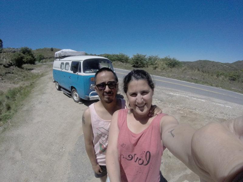Victoria De Francesco y Andrés Alarcón se embarcaron en Cósmica el 15 de septiembre, fecha en la que partieron de Tres Arroyos para llegar a México