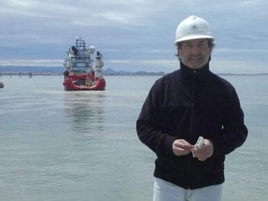 El tresarroyense Esteban Marquínez es Coordinador General de Operaciones del Puerto de Comodoro Rivadavia y como tal participó de la búsqueda del ARA San Juan