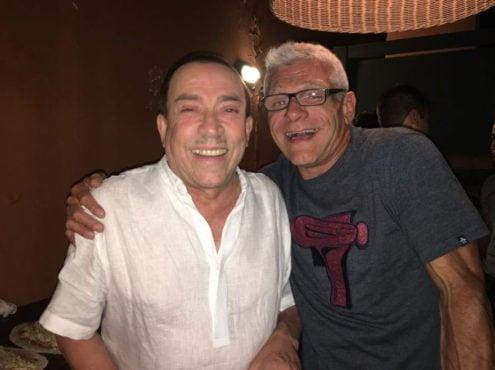 """Con Aníbal Pachano, Esteban armó un vínculo entrañable que surgió con su participación en el espectáculo """"Tangou"""""""