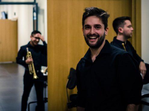 Manuel Zabalza integra desde hace dos años la Orquesta Académica del Teatro Colón y este año formó parte de la Orquesta de las Américas