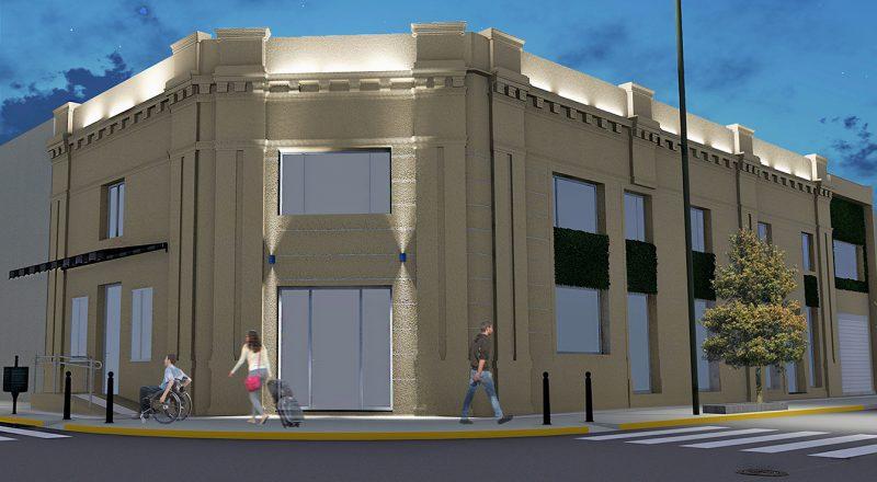 El desarrollador Daniel Fernández, propietario de Tres Arroyos Studio Apartments, lleva adelante la construcción de un complejo de viviendas de alquiler temporario en 1810 y Brandsen