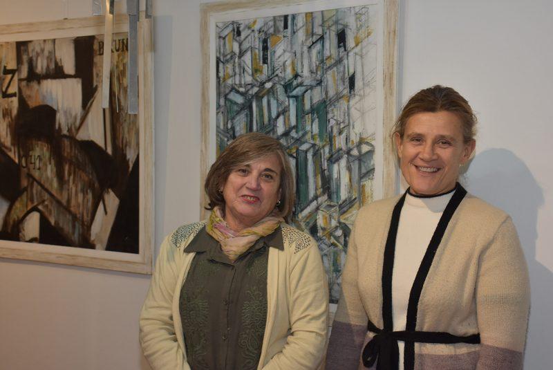 """Las artistas plásticas Graciela Chalde y María Pía Vassolo abrieron """"Viart"""", un concepto novedoso, una vidriera para el arte"""