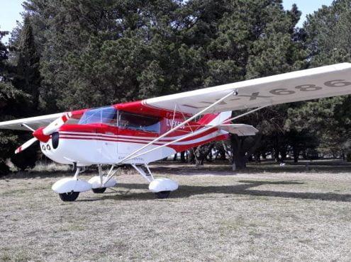 Con tenacidad de vasco y el convencimiento de que cualquiera puede hacerlo, Gustavo Uzcudun fabricó su propio avión