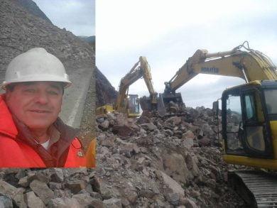 El ingeniero civil Jorge Alonso es tresarroyense y desde 2005 trabaja en COARCO, firma que intervino en las tareas para recuperar la traza de la ruta 40 tras el desmoronamiento