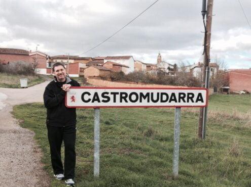 Turienzo en Castromudarra, España, el pueblo donde nació su abuelo