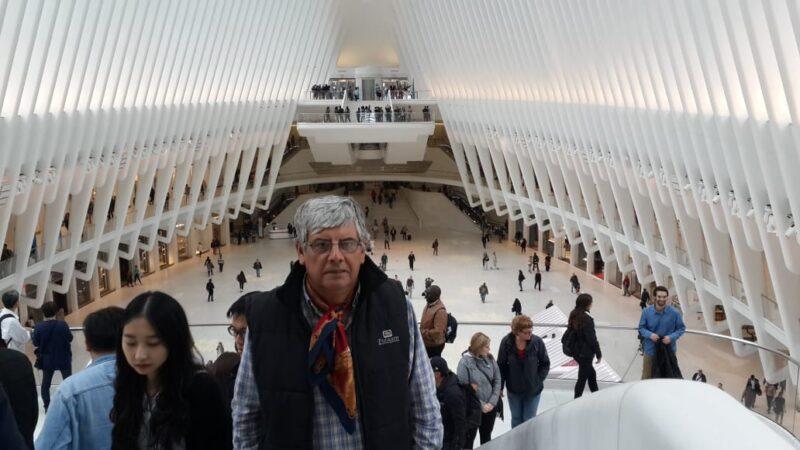 Jorge González materializó un viaje de sueños a los Estados Unidos. Aquí, en Nueva York