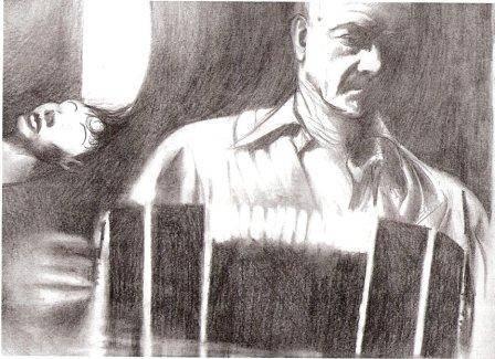 """El ilustrador y músico tresarroyense Gustavo Sabatini cuenta que, mientras vivió en Buenos Aires, """"dibujaba mucho a Piazzolla"""""""