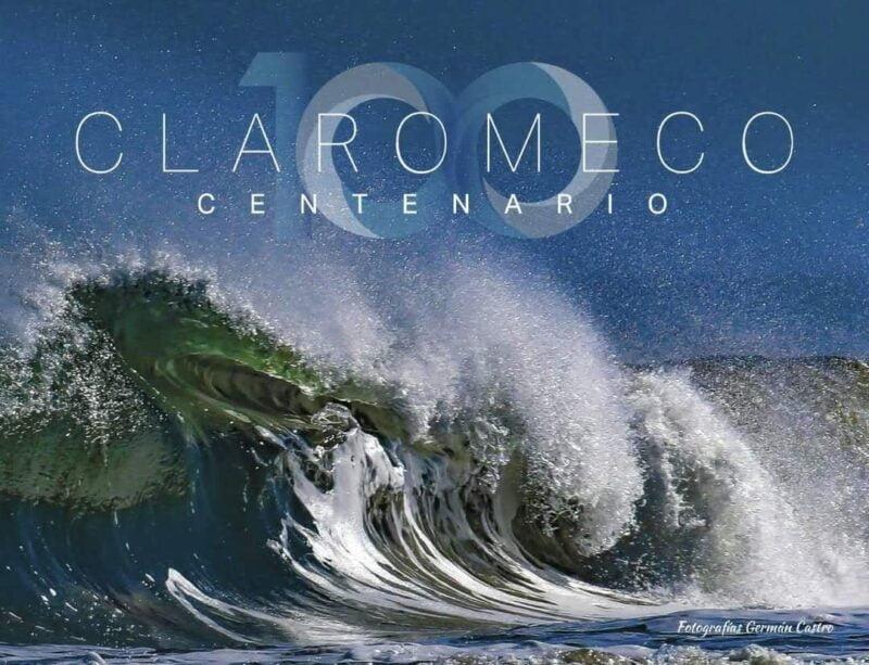 """Castro acaba de dejar para la localidad un legado extraordinario: el impactante """"Claromecó Centenario"""", un libro de fotografías y textos de más de 200 páginas"""