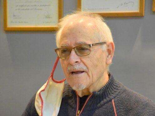 El pasado 21 de abril, Bernabé Vicario cumplió 50 años como integrante del Rotary Club Tres Arroyos, lo que lo convierte en el integrante más antiguo de ese club de servicio