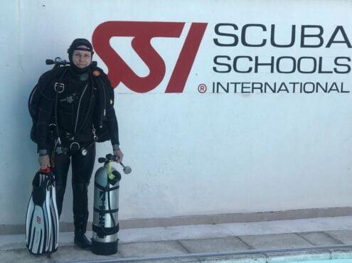 Sedení Swaels es la primera y única mujer instructora de Rango Extendido del país