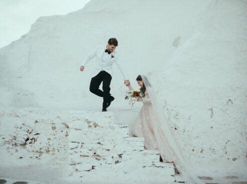 La boda de ensueño de Luciano Palla y su esposa Ziomara en Mykonos, Grecia
