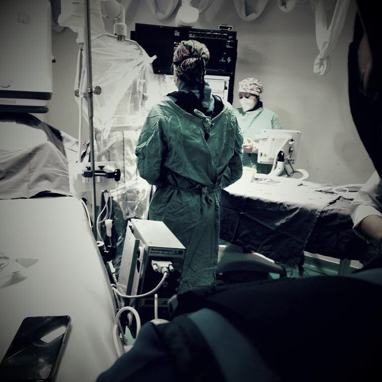 """""""Sería posible tratar los infartos agudos de miocardio, que son las obstrucciones súbitas del flujo coronario y así el paciente recibiría su tratamiento sin tener que ser trasladado a otra ciudad"""", explicó Noelia"""