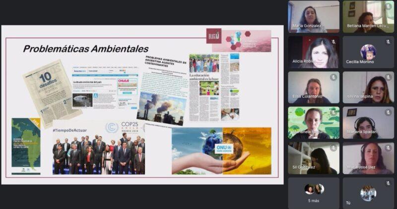 """Desde Bariloche donde vive, y a través de RGU Consultoría Química, fundada en Mar del Plata donde estudió, """"Maki"""" González  llevó adelante una capacitación en temáticas ambientales"""