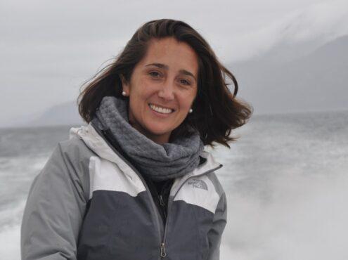 """María Magdalena """"Maki"""" González es magister en Física Médica del Instituto Balseiro y licenciada en Química de la Universidad de Mar del Plata"""